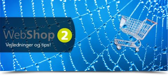 Webshop 2 nyhedsbrev